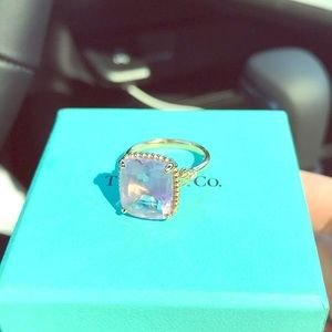 Tiffany & CO. It's 1 year old beautiful ring